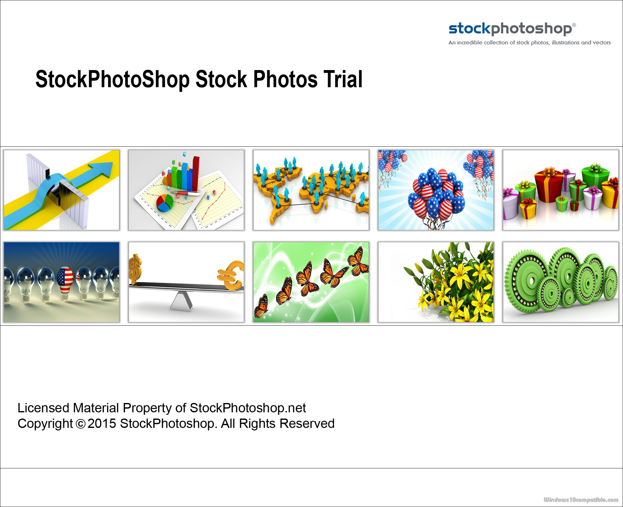 stock photoshop 1 0 free download